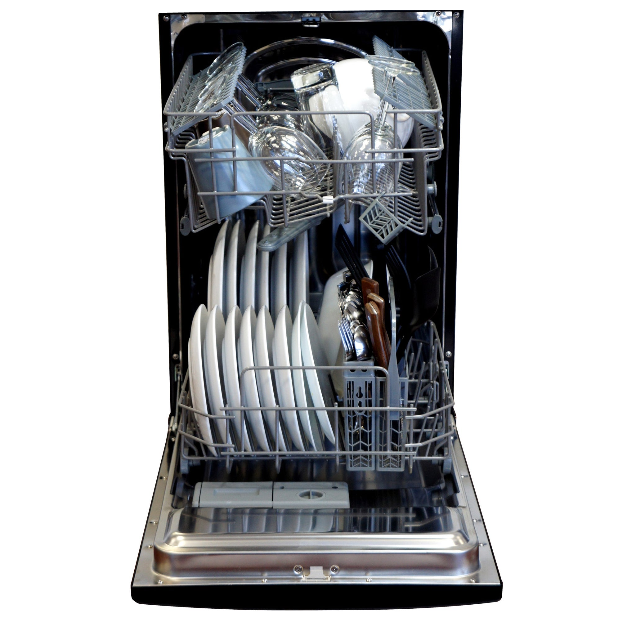 SPT Energy Star Stainless Steel 18-inch Built-In Dishwasher - Free ...