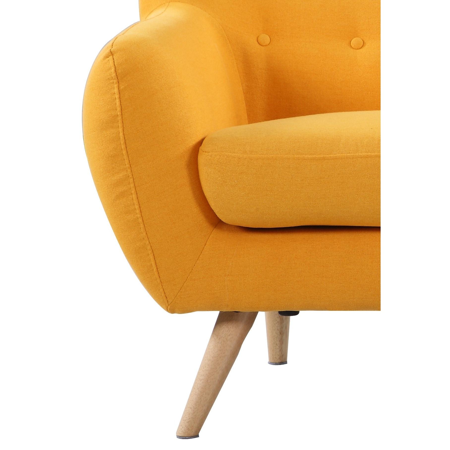 Mid Century Modern Love Seat Living Room Furniture Assorted  # Muebles Easy Rosario