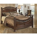 Signature Design by Ashley Leahlyn Warm Brown Queen Panel Headboard