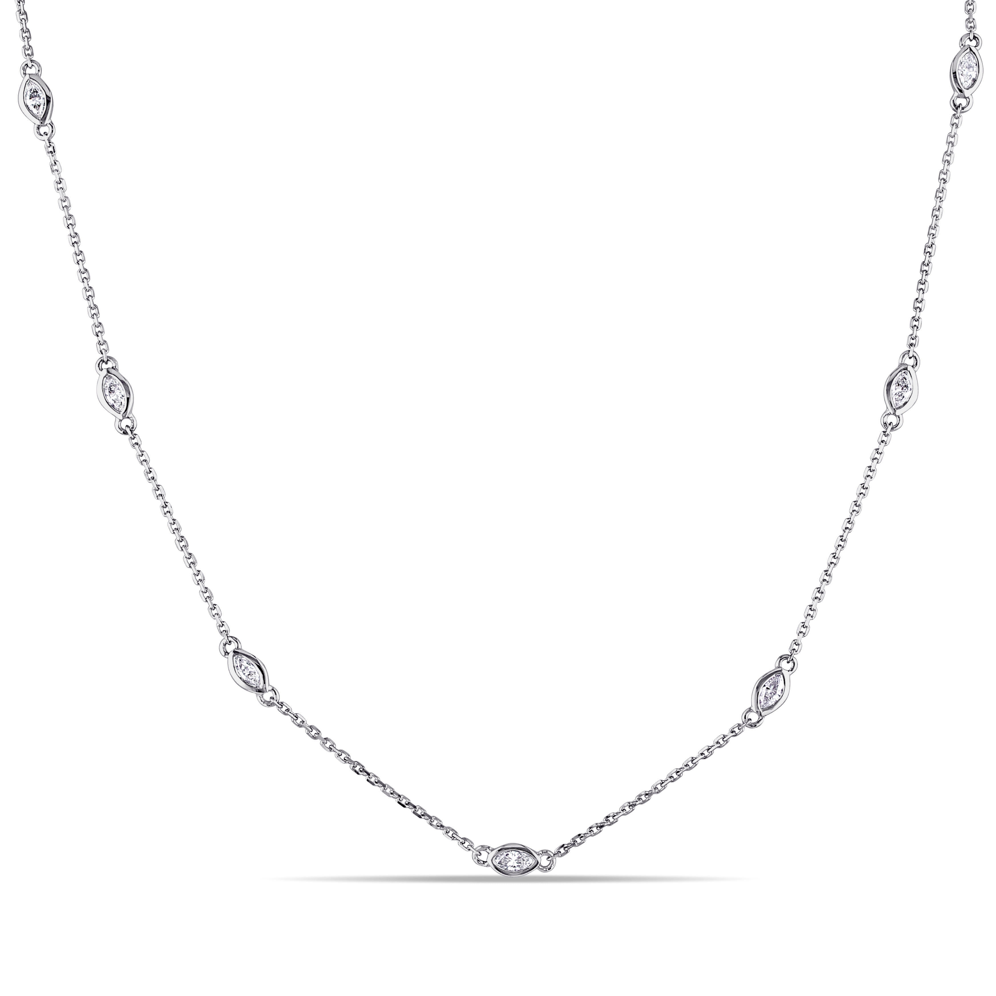 by large necklace diamonds moda reza m o exclusive loading operandi diamond white marquise marquis