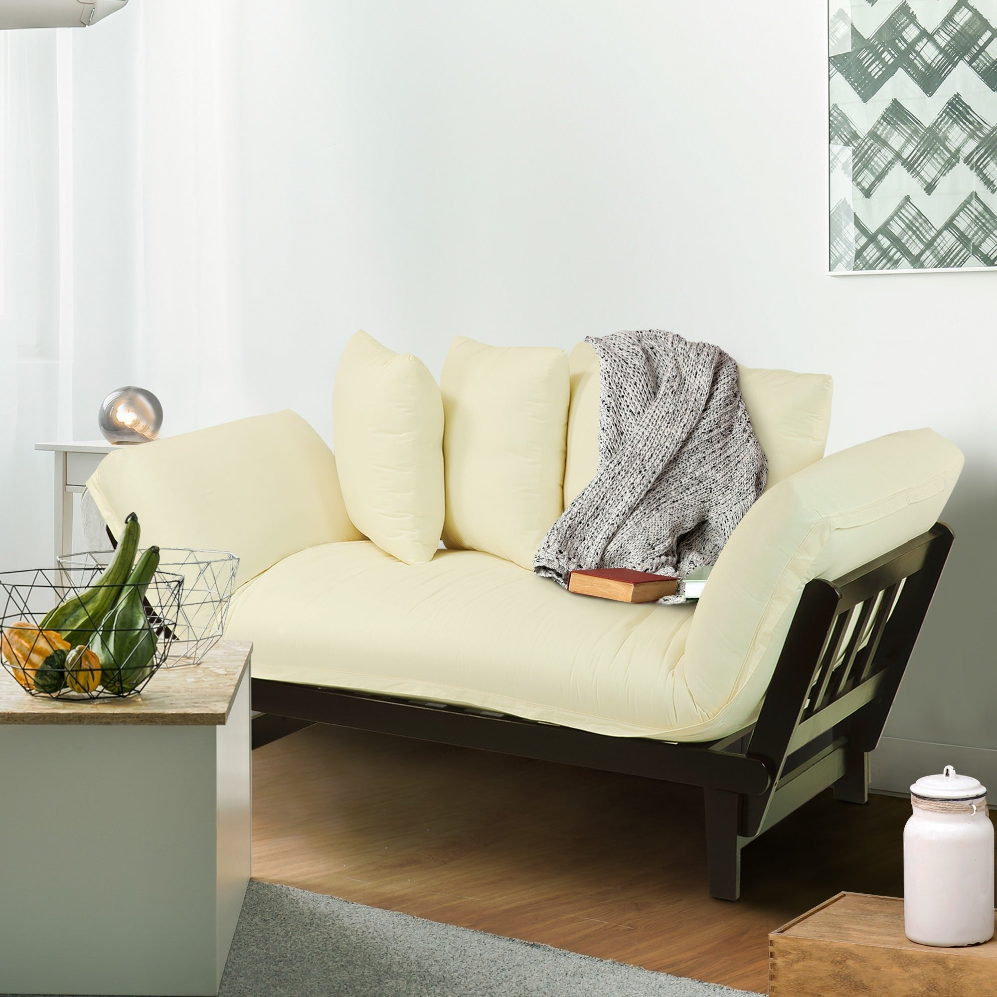 Shop Casual Lounger Sofa Bed - Free Shipping Today - Overstock.com ...