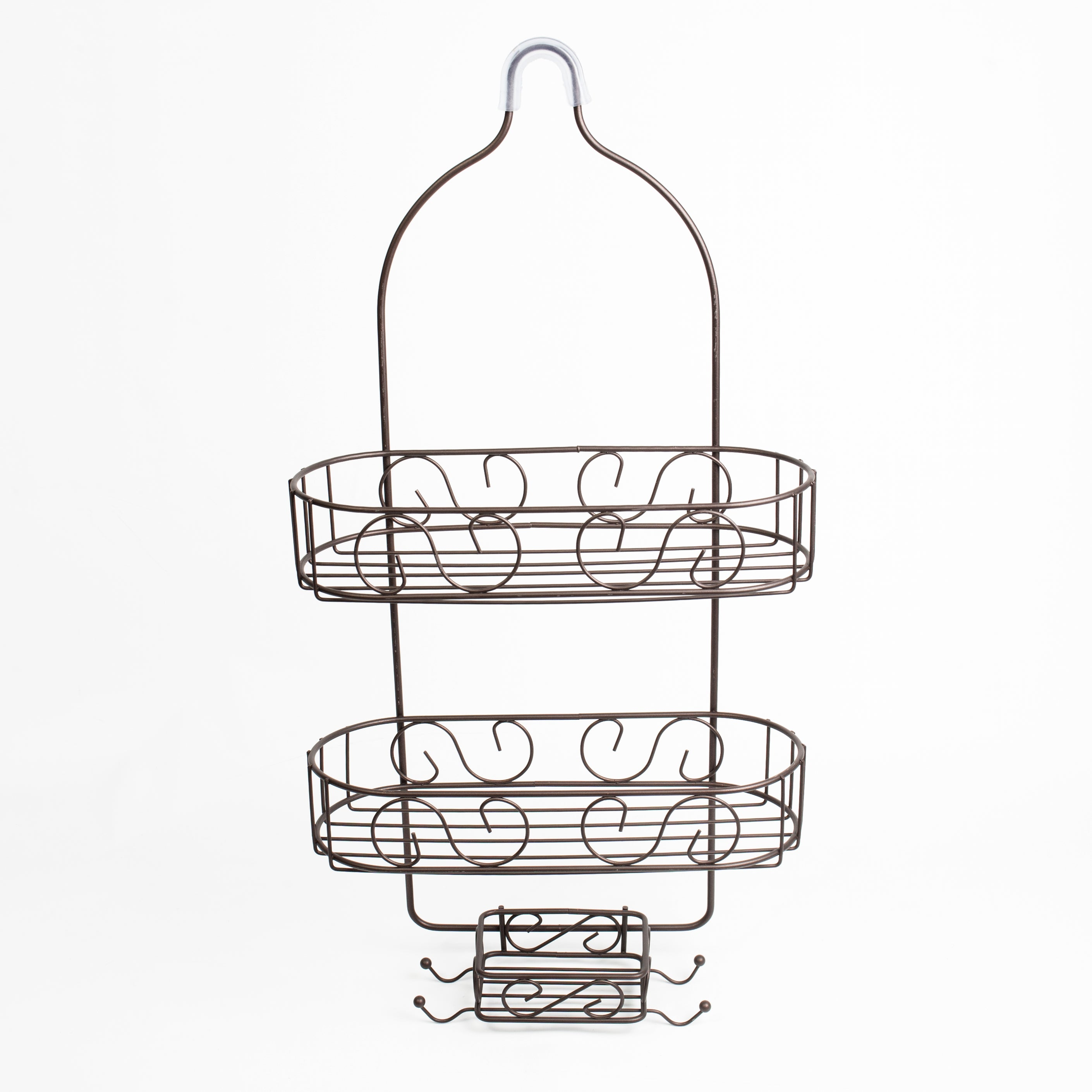 Shop High Quality 2 Tier Bronze Shower Caddy - Free Shipping On ...