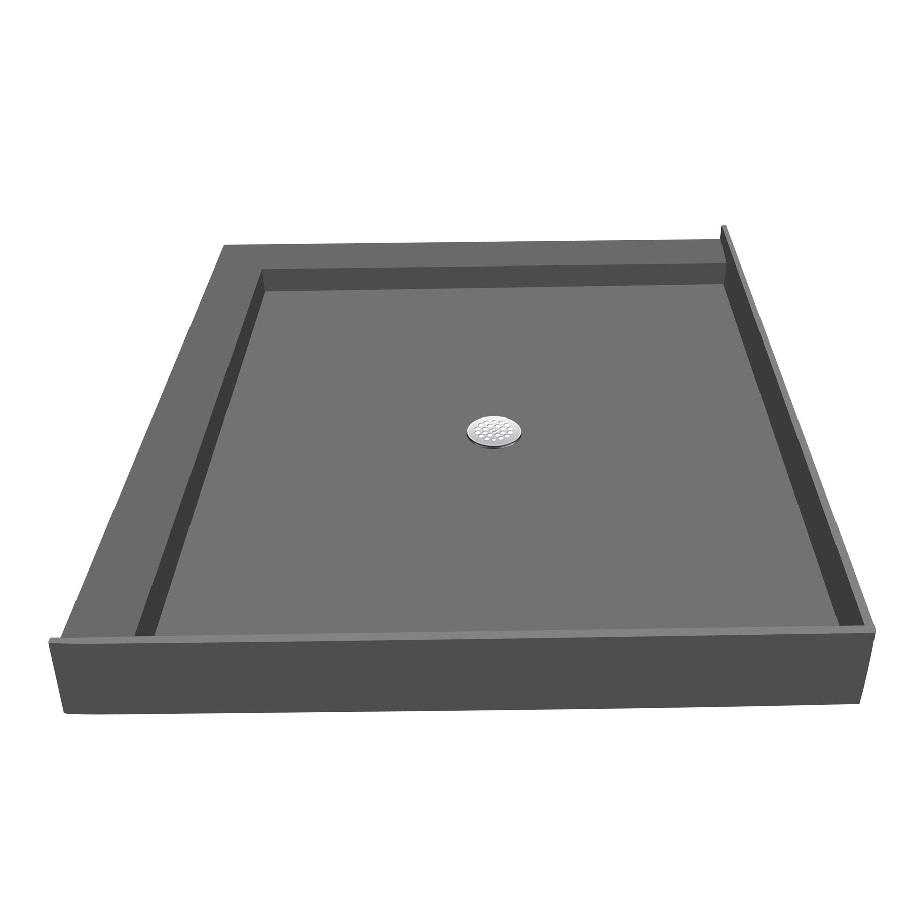 Exceptionnel Shop Redi Base 30 X 48 Shower Pan Center Drain Left Dual Curb   Free  Shipping Today   Overstock.com   10124404