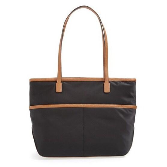 66ecee06af7a Shop Michael Kors Kempton Medium Nylon Pocket Tote Bag - Free Shipping  Today - Overstock - 10128673
