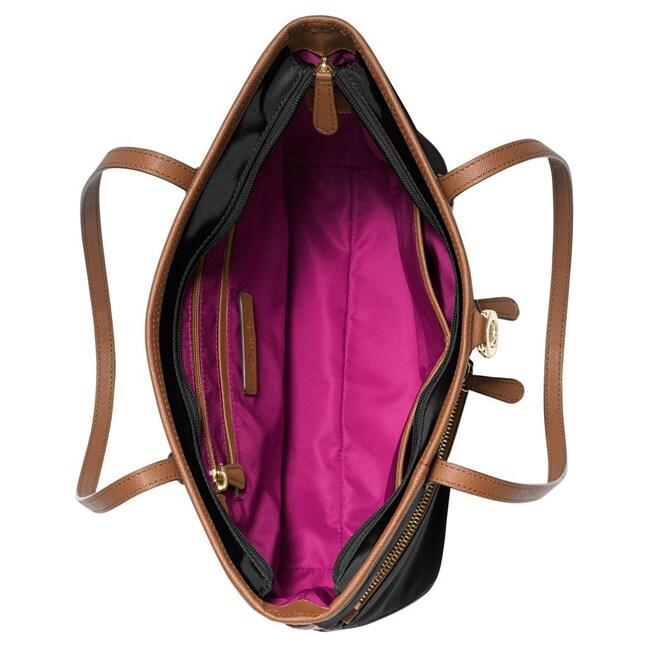 f041f1679f6b28 Shop Michael Kors Kempton Medium Nylon Pocket Tote Bag - Free Shipping  Today - Overstock - 10128673