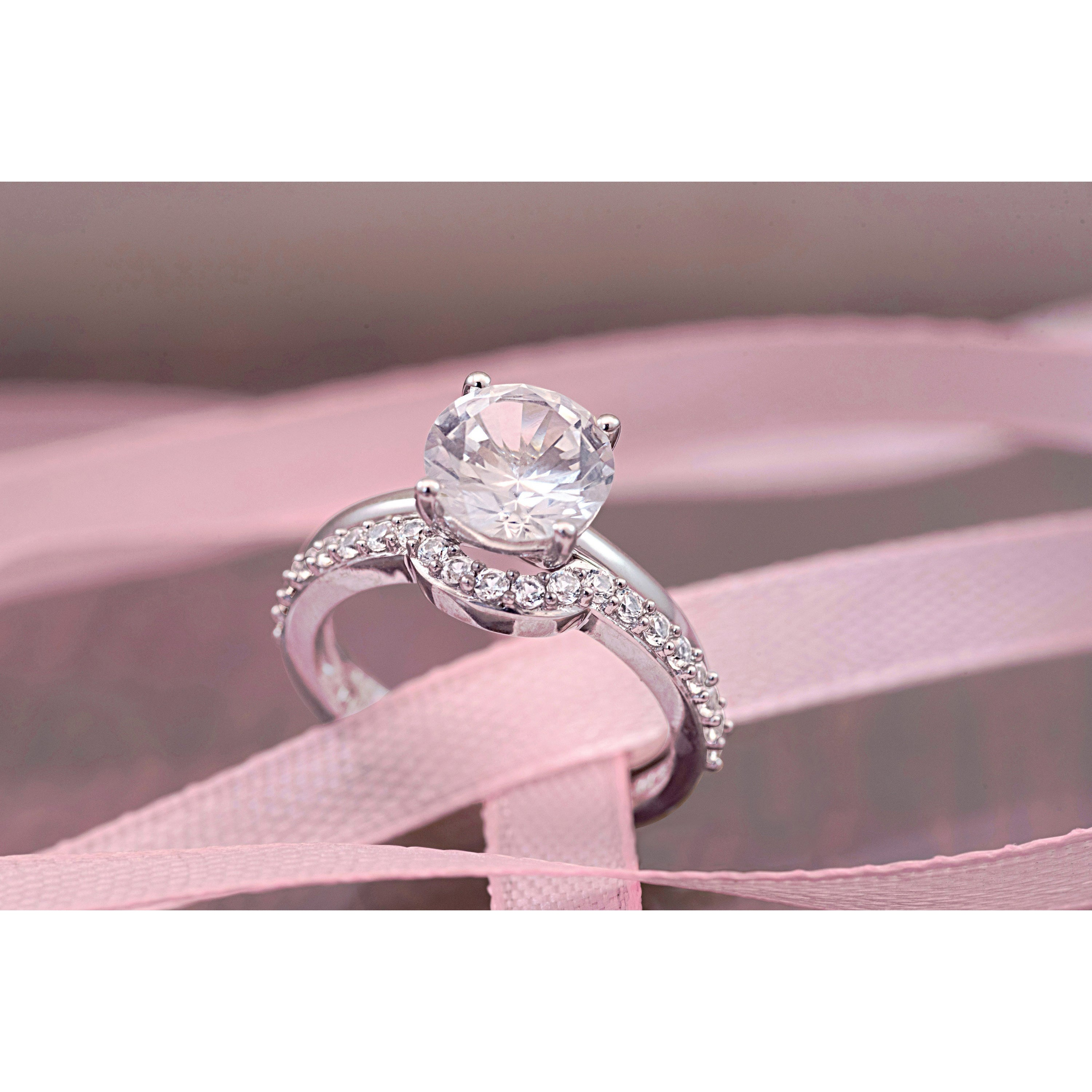 Emejing Pink Wedding Ring Sets Photos - Styles & Ideas 2018 - sperr.us