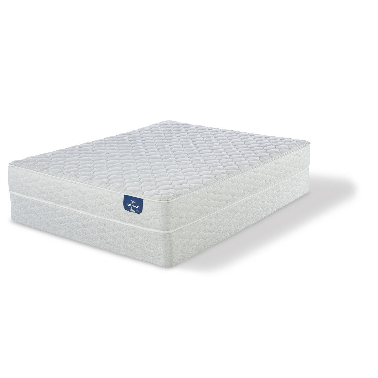 perfect eurotop overstock sleeper size free garden set mattress birchcrest today product home serta full shipping