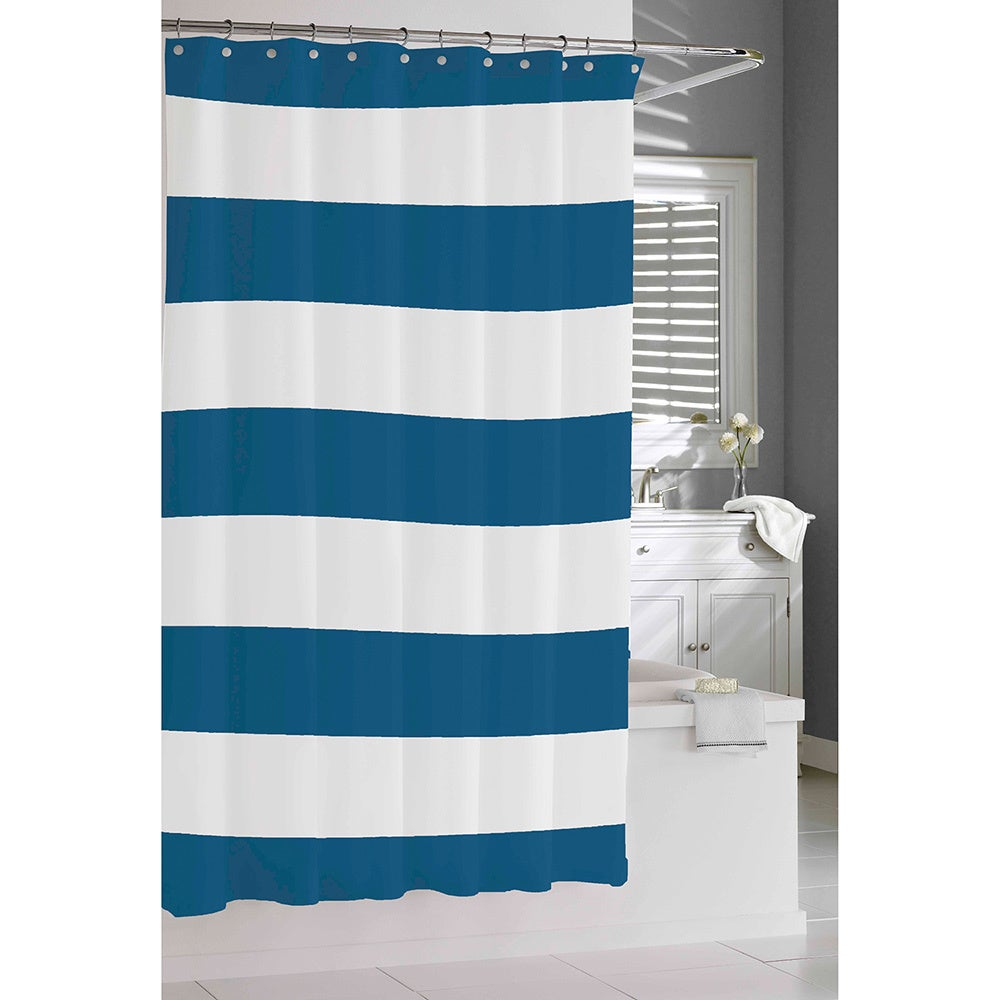 Coastal Stripe Shower Curtain - Free Shipping On Orders Over $45 ...