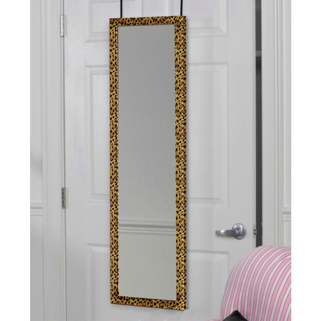 3d7e467d33e Shop over the door full length dressing mirror jpg 1024x1024 Leopard trim  mirror