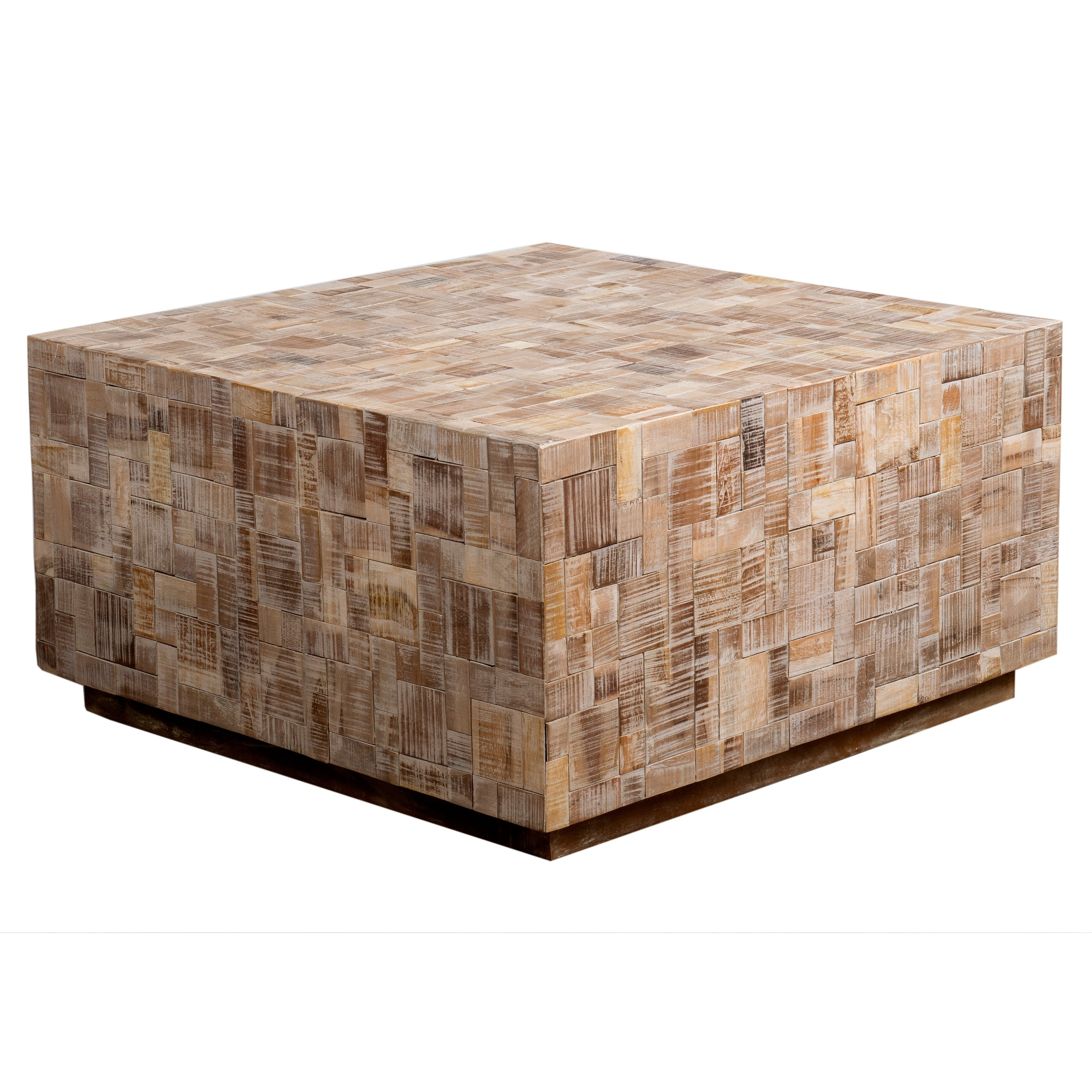 Amory Tan Square Coffee Table Free Shipping Today 10132173