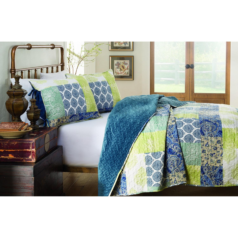 Shop 214 West Velvet Becca 3-piece Quilt Set - Free Shipping Today ...