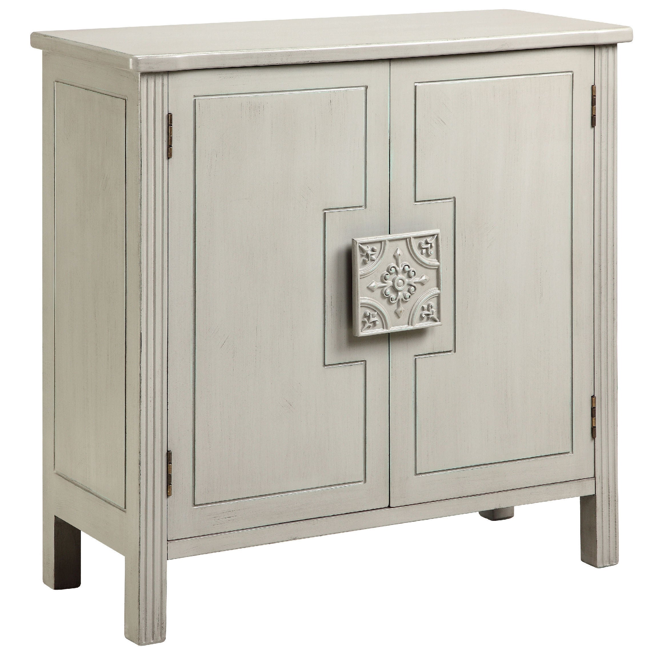 Bon Shop Sophia White Accent Cabinet   On Sale   Free Shipping Today    Overstock.com   10138319
