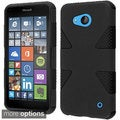 Insten Dynamic Hard PC/ Silicone Dual Layer Hybrid Rubberized Matte Phone Case Cover For Microsoft Lumia 640