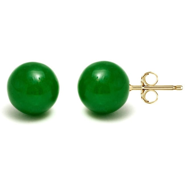 green kundan earring pair proddetail ferozi size color stud stone big rs id