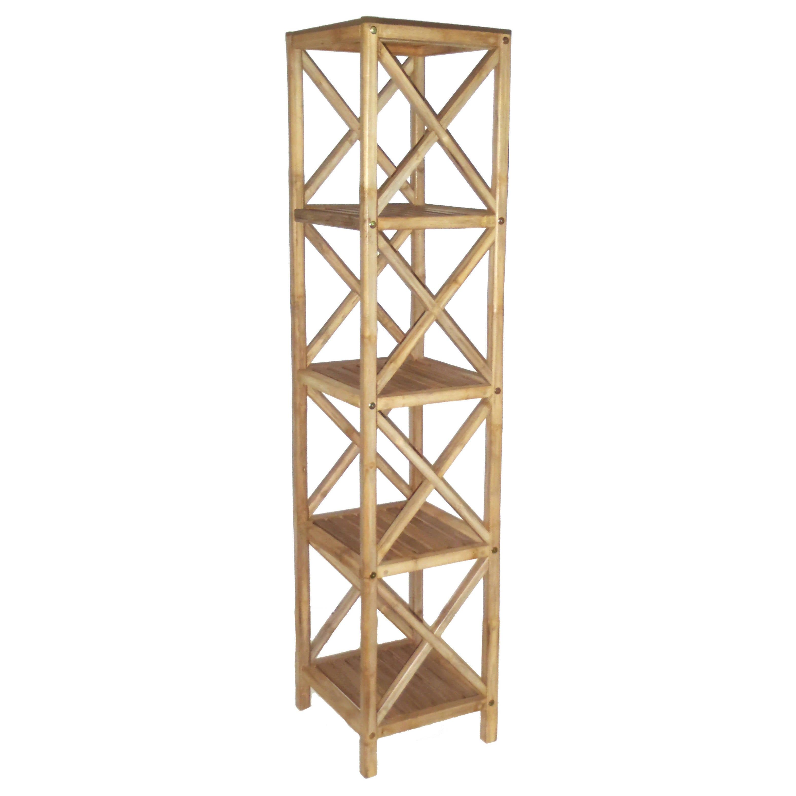 f tropical shelf z case bamboo beach etageres pair shelves pagoda pieces palm storage at wicker rattan id furniture