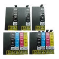 11-pack Replacing T252XL Ink Cartridge for Epson WF-3620 WF-3640 WF-7110 WF-7610 WF-7620 Printer