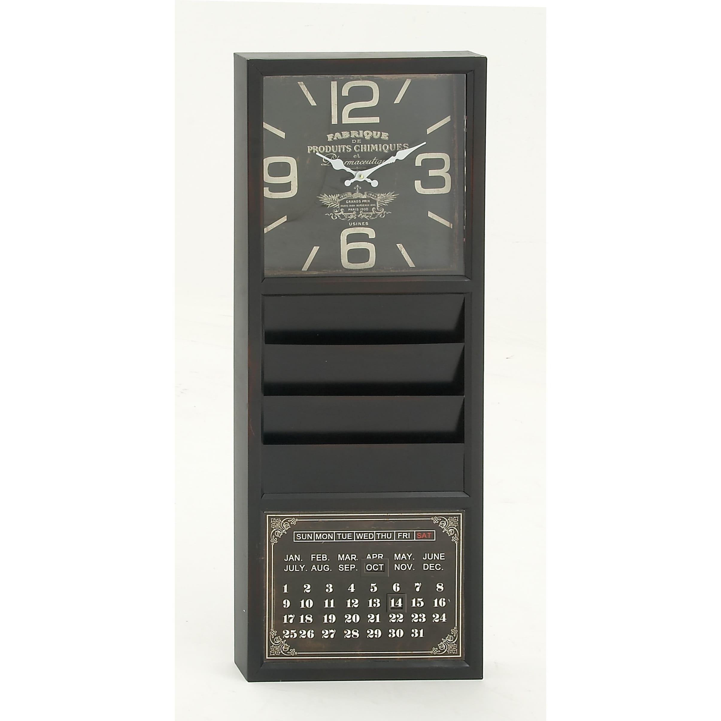 Prime Remarkably Styled Metal Calendar Clock Download Free Architecture Designs Rallybritishbridgeorg