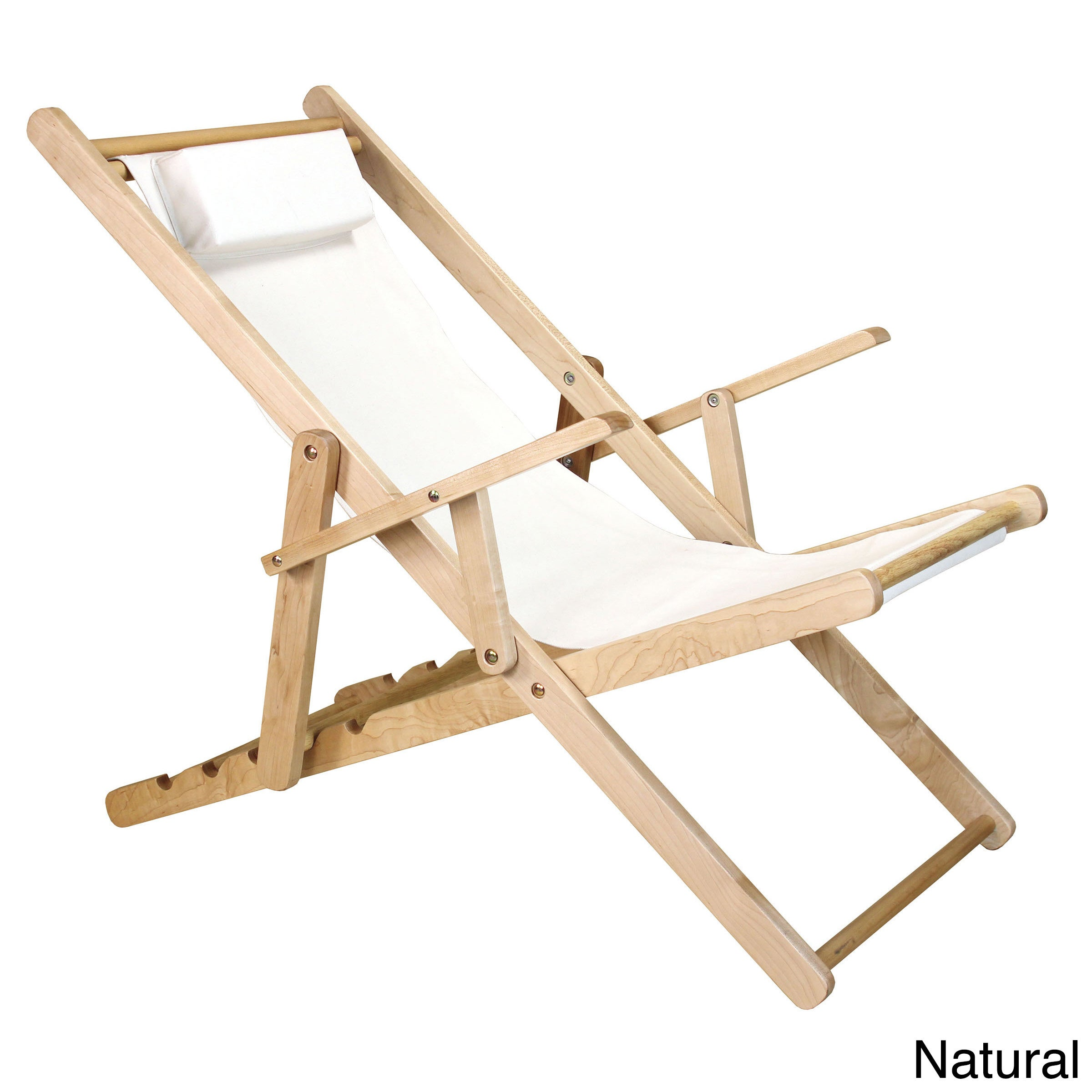 Shop Canvas Patio Sling Chair   Free Shipping Today   Overstock.com    10160203