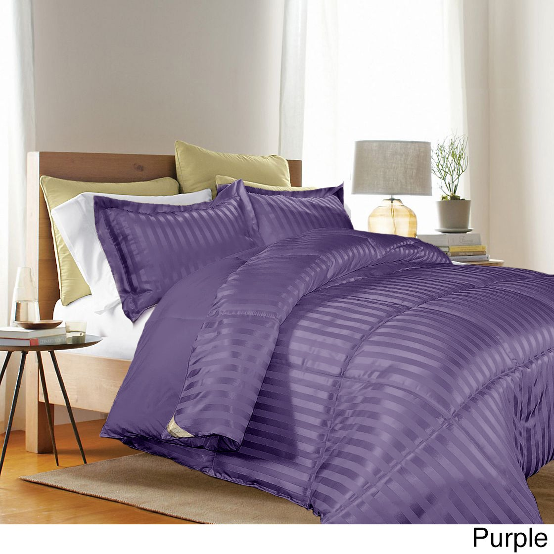 dsc alternative purple comforter super beds fits top pillow quality high light down comforters bedding oversized