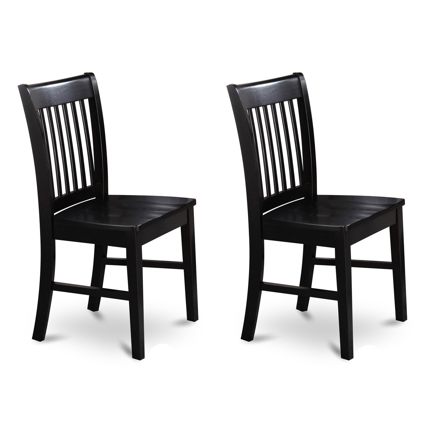 Shop copper grove cronewood black wooden seat dining chair set of 2 free shipping today overstock com 20460876