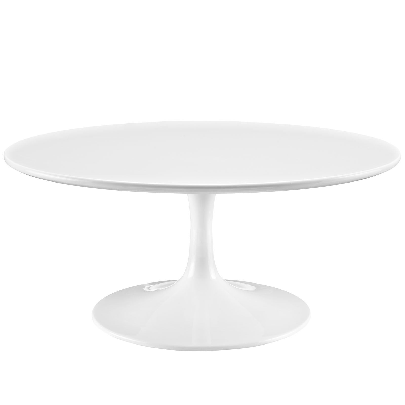 Progress White 36inch Round Coffee Table Free Shipping Today