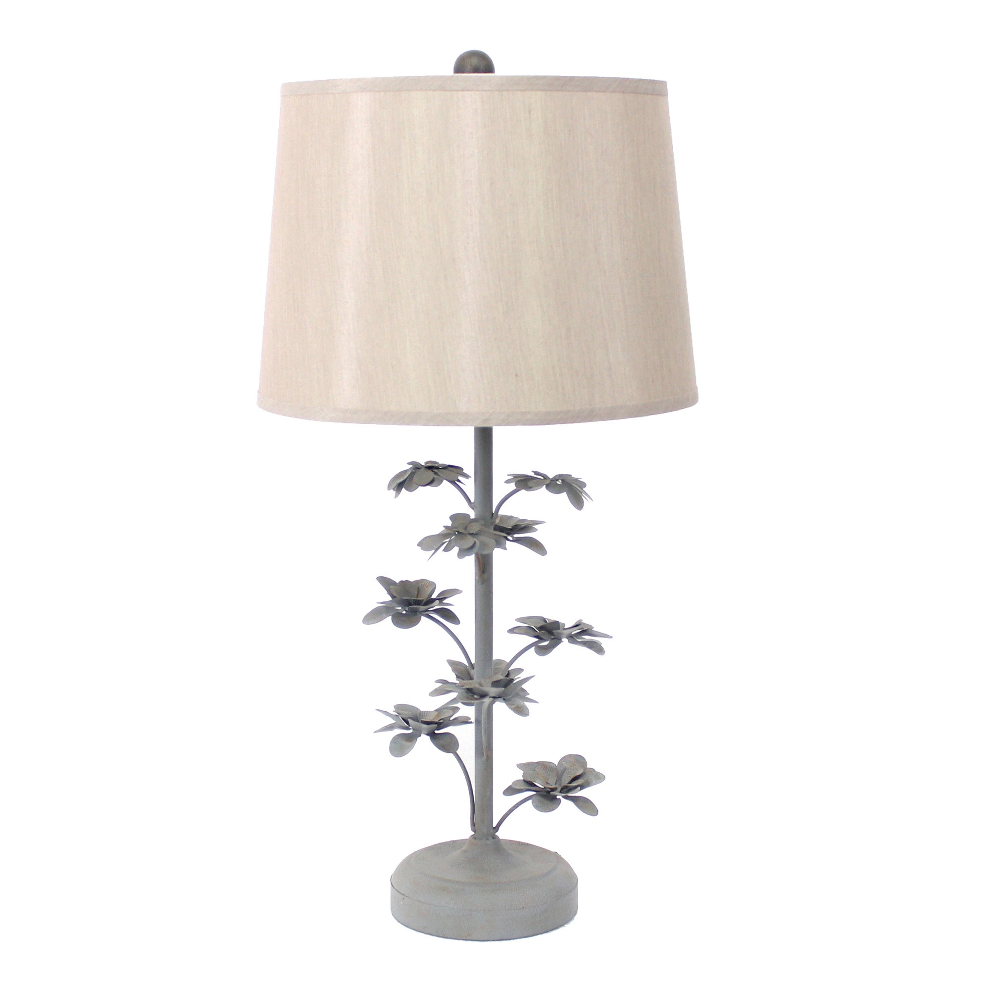 Teton Home 2 Tl 020 Metal Floral Table Lamp Free Shipping Today