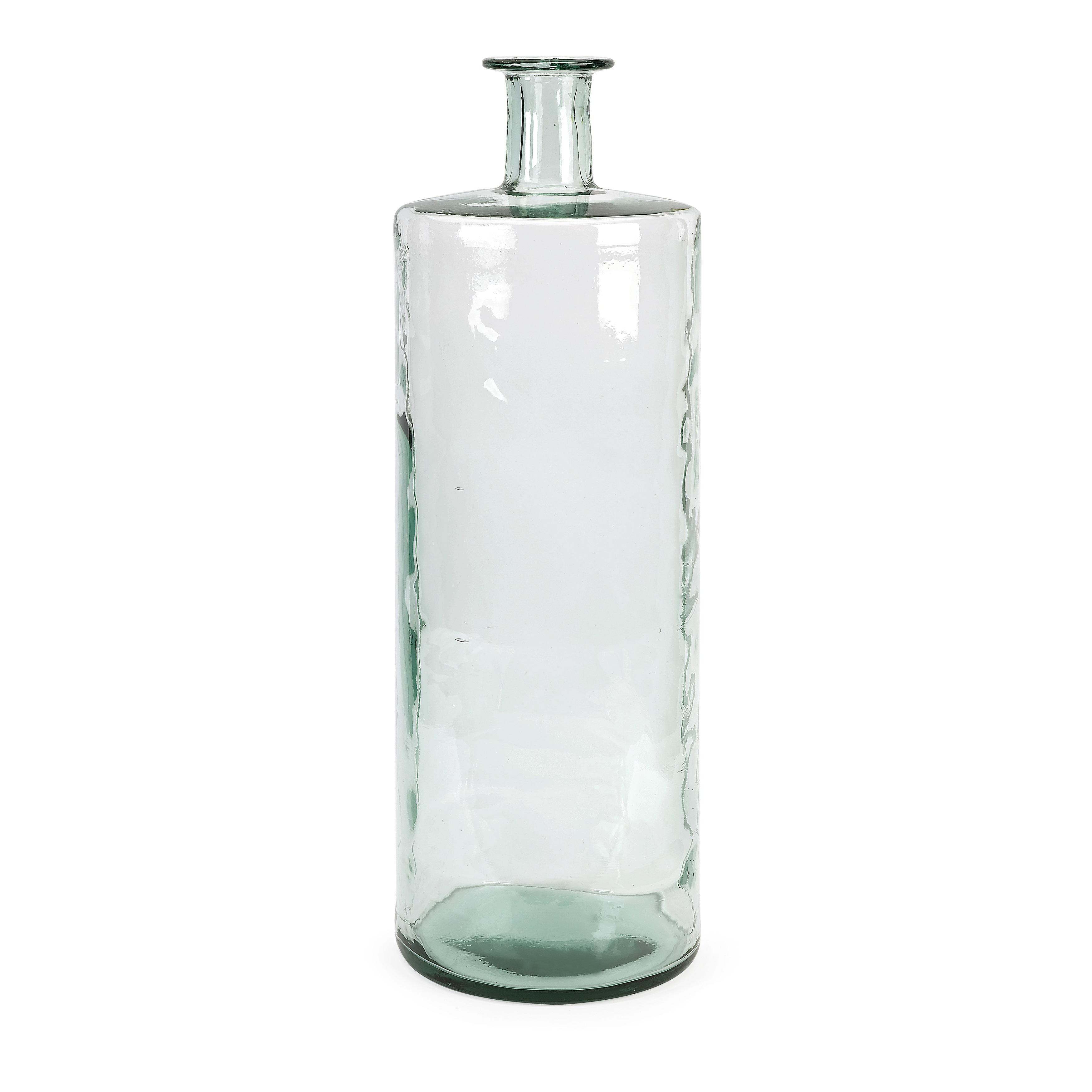 Vettriano oversized tall recycled glass vase free shipping today vettriano oversized tall recycled glass vase free shipping today overstock 17293522 reviewsmspy