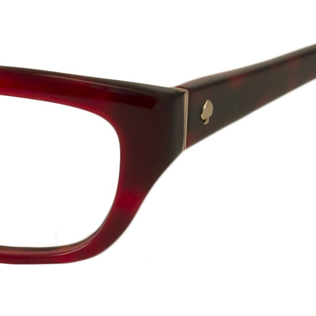 a048de286f3 Shop Kate Spade Women s Catalina Rectangular Reading Glasses - Free  Shipping Today - Overstock.com - 10166637