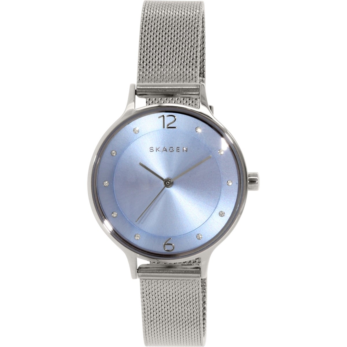 Shop Skagen Women s Anita SKW2319 Stainless Steel Quartz Watch - Free  Shipping Today - Overstock - 10166683 84e60707ddc