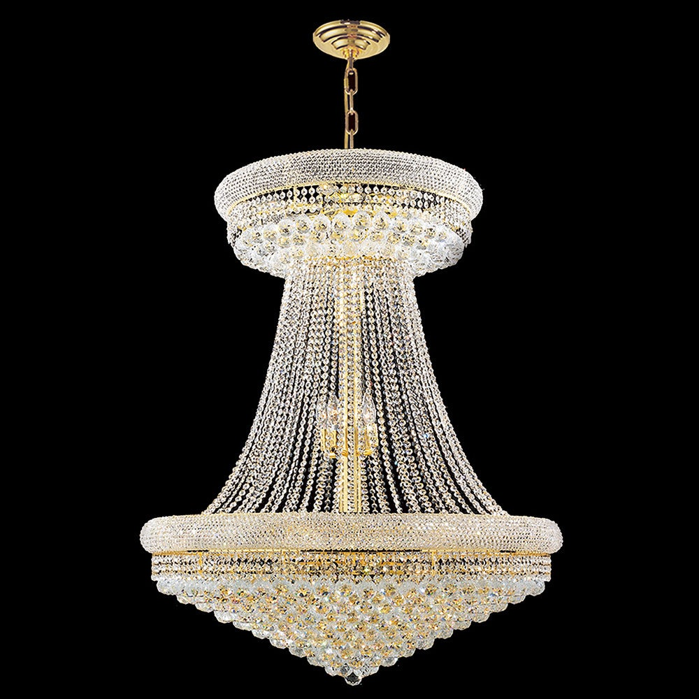 Shop French Empire 28-light Gold Finish and Clear Crystal 36-inch Wide  French Empire Chandelier - On Sale - Free Shipping Today - Overstock -  10166999 920062d12d0e