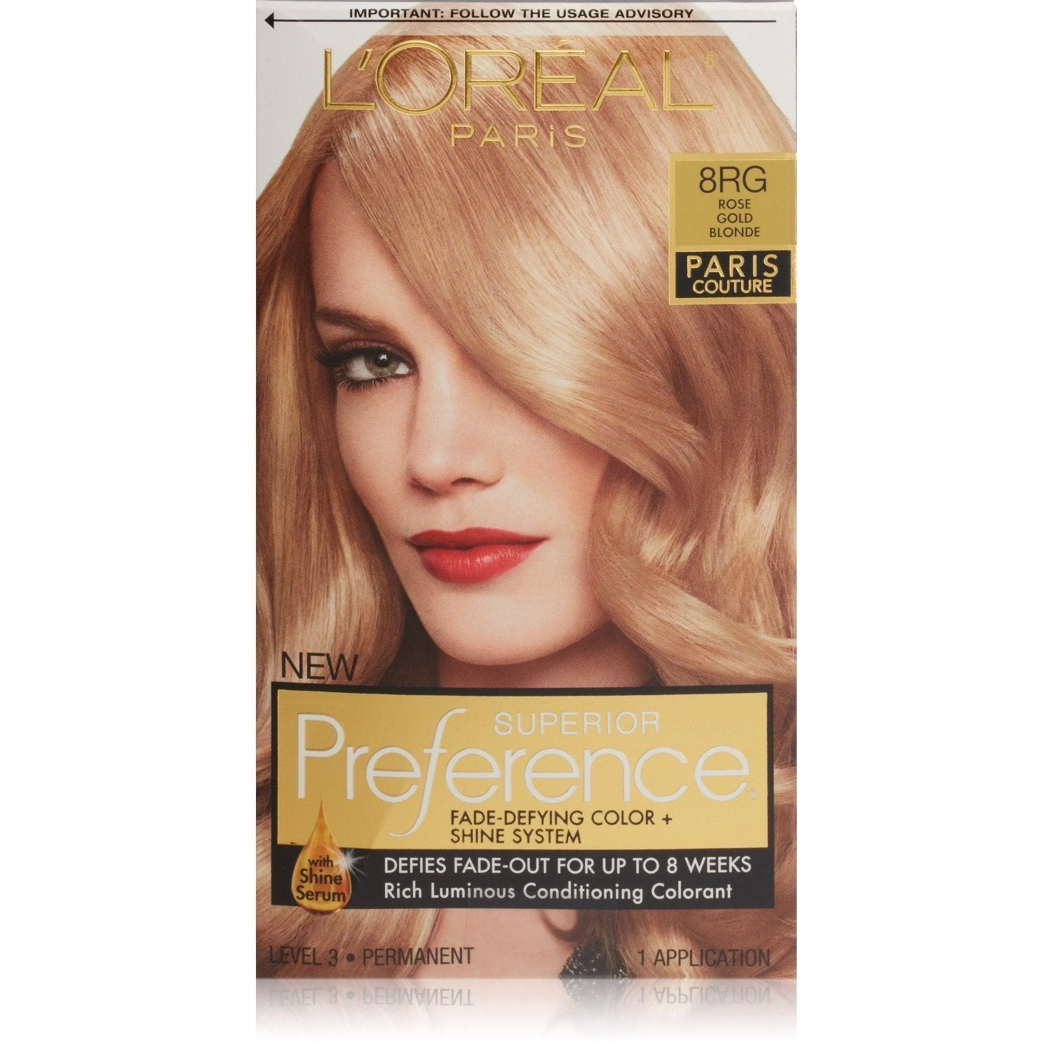 Shop Loreal Paris Couture Rose Golde Blonde 8rg Superior Preference