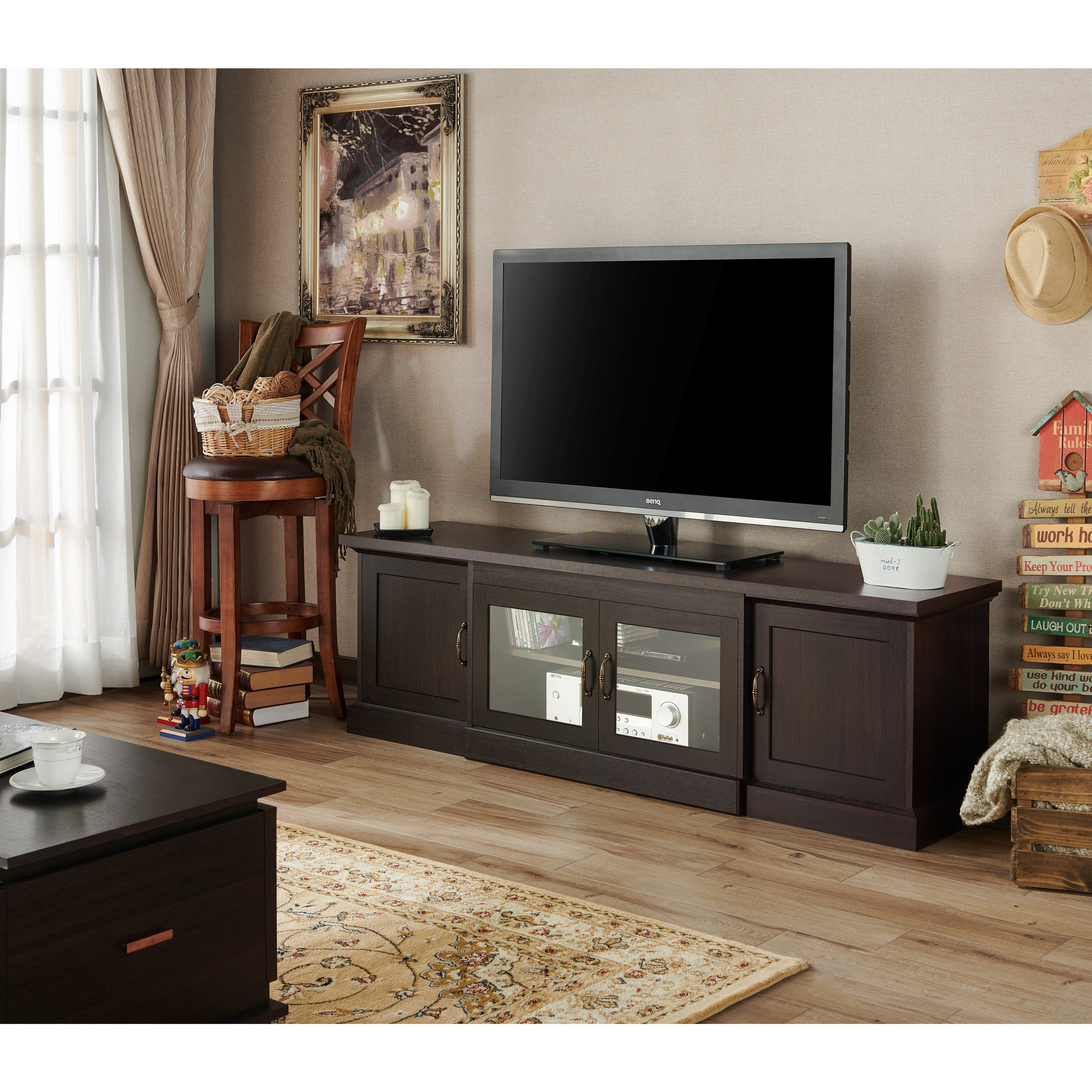 Amazing Shop Furniture Of America Walder 68 Inch TV Stand   On Sale   Free Shipping  Today   Overstock.com   10168023