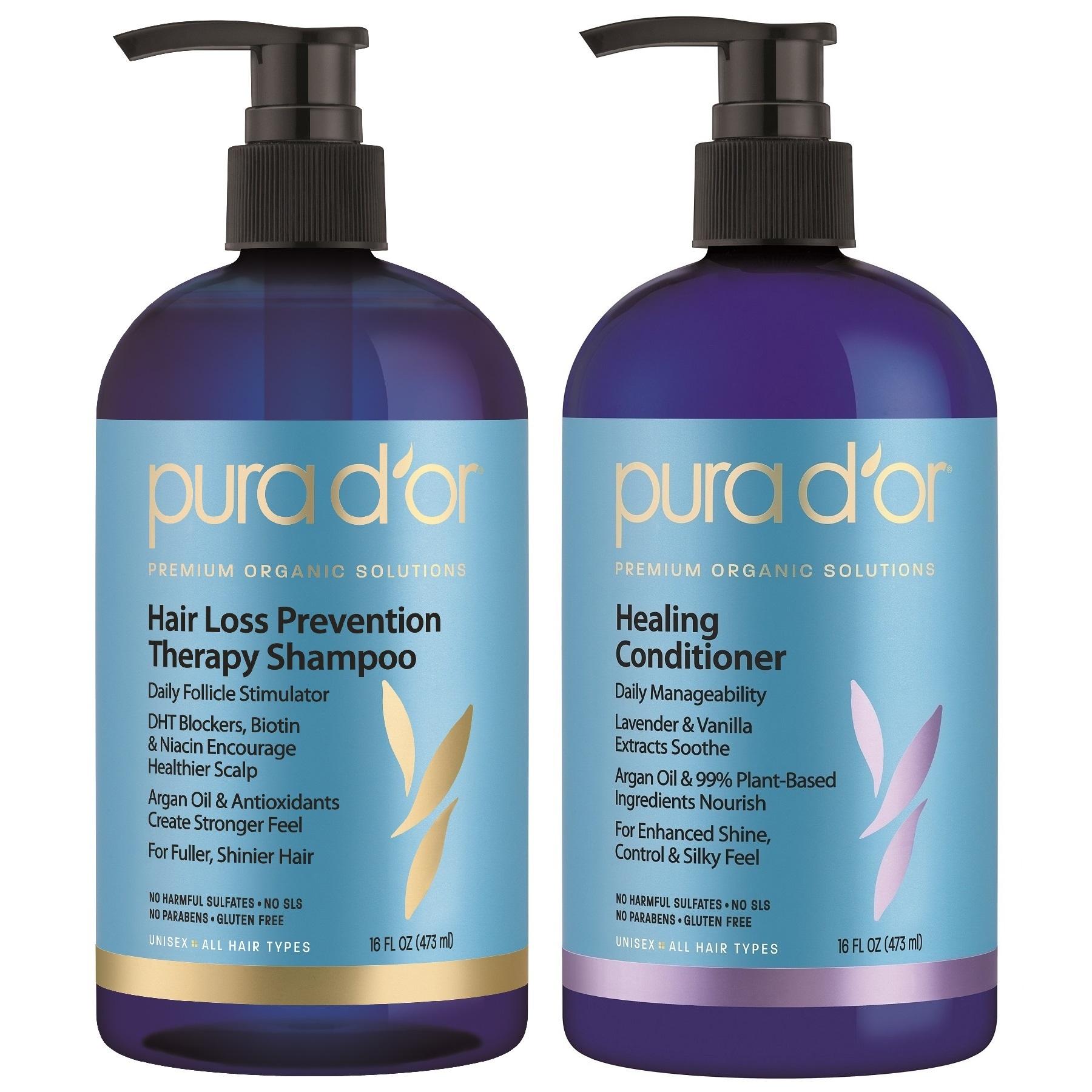 Shop Pura D Or Premium Organic Hair Loss Prevention Shampoo