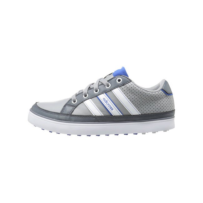Adidas Men's Adicross IV Q47046 Grey/ White/ Blue Golf Shoe - Free Shipping  Today - Overstock.com - 17296191