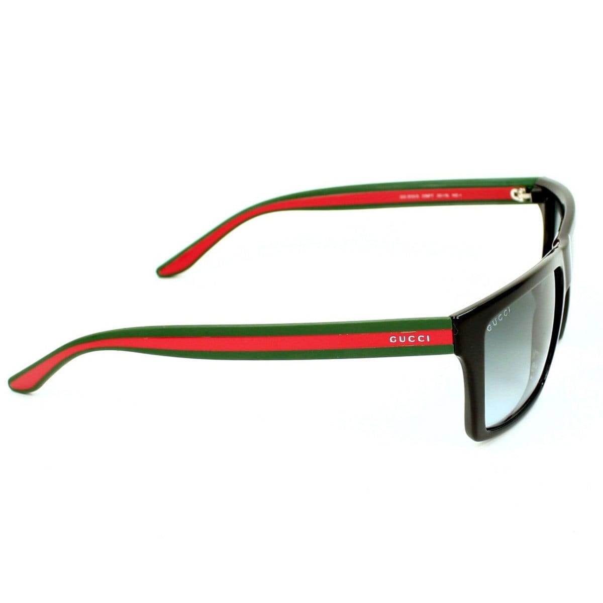 87285d314a7 Shop Gucci Men s GG 1013 S Rectangular Sunglasses - Black - Large - Free  Shipping Today - Overstock - 10168200
