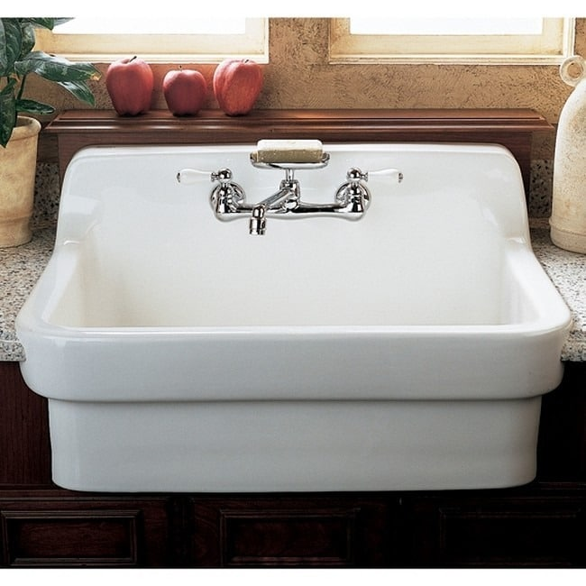American Standard Country Porcelain White Utility Sink - Free ...