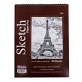 Bazic Top Bound Spiral Premium 40 Sheet Sketch Pad