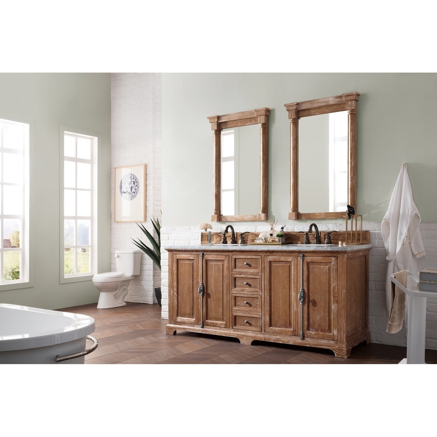 double overstock free vanity product american shipping metropolitan home garden today walnut