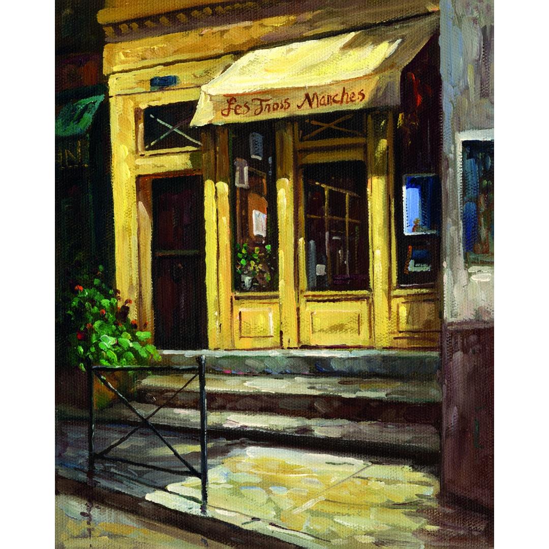 Portfolio Canvas Decor Bretan-Gaetano Collection \'Paris Shop 1 ...