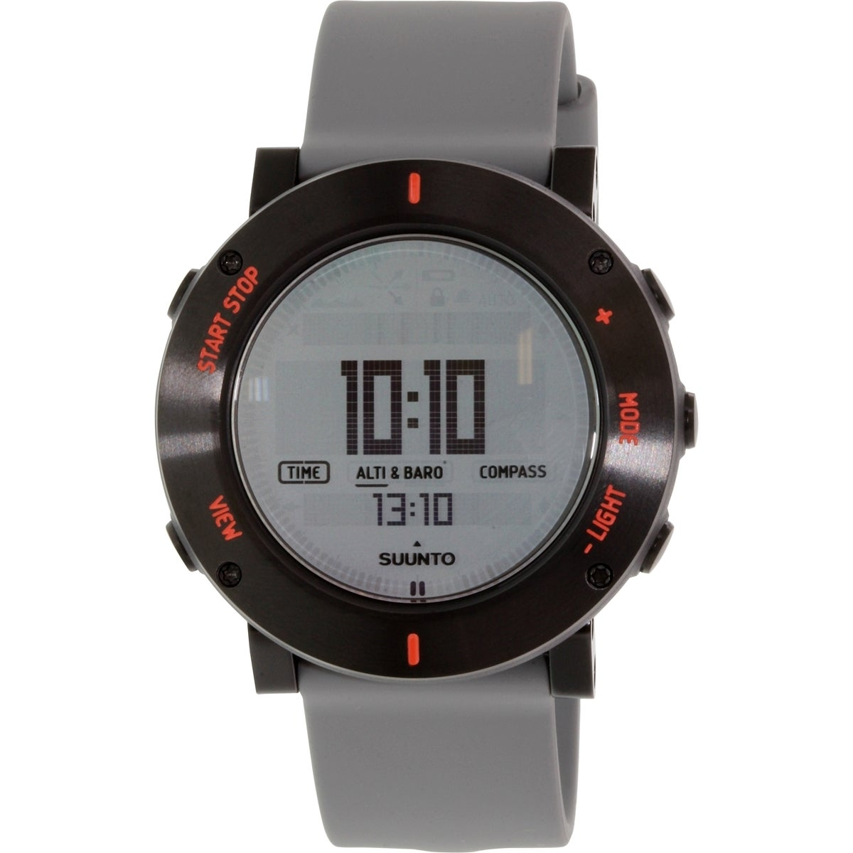 Shop Suunto Mens Core Grey Rubber Quartz Watch Free Shipping Traverse Black Outdoor Watches With Gps Glonass Today 10172244