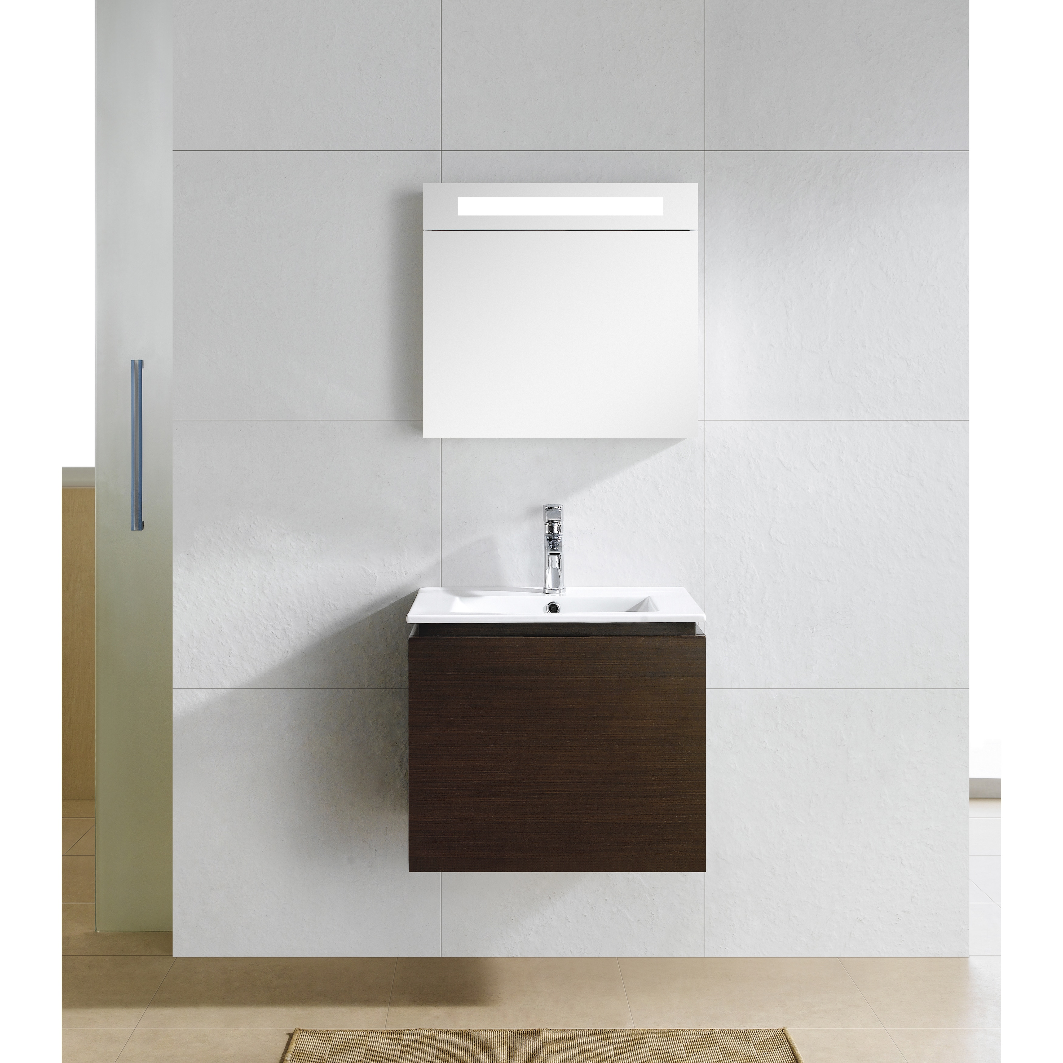 Shop Fine Fixtures Lexington 24 Inch Vanity With Vitreous China Sink Top    Free Shipping Today   Overstock.com   10173245