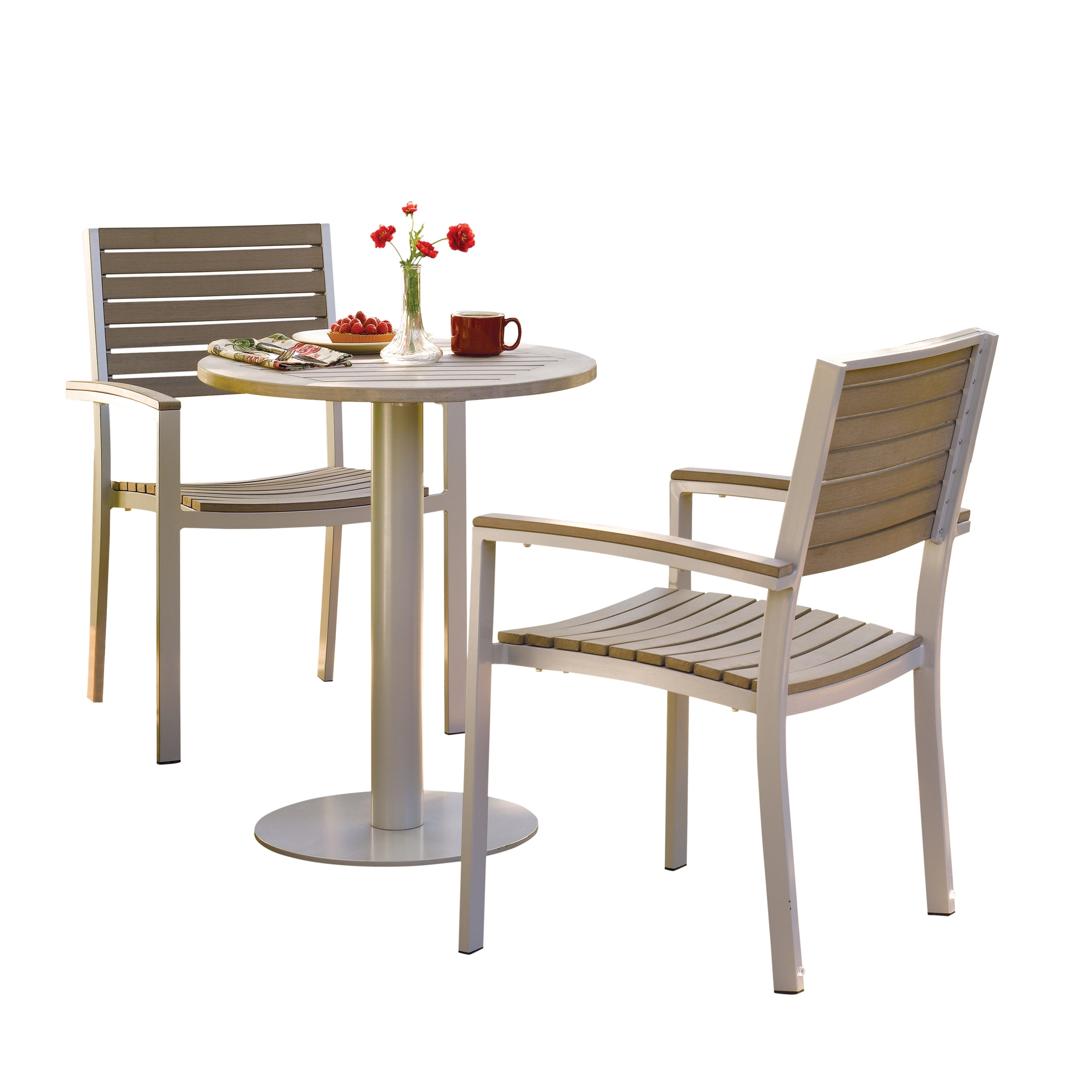 Exceptionnel Shop Oxford Garden Travira 5 Piece 24 Inch Bistro Table Set   Free Shipping  Today   Overstock.com   10174961
