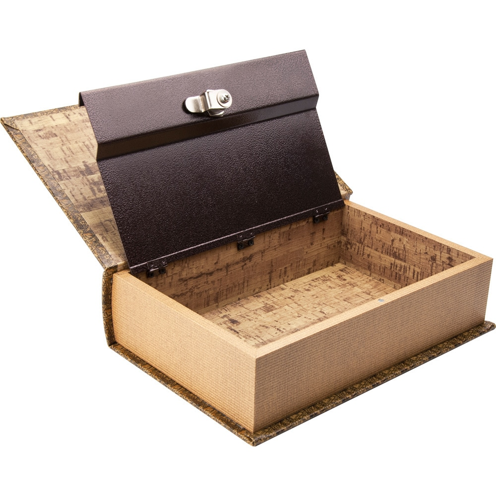 Shop Antique Map Diversion Book Lock Box Free Shipping On Orders - Antique map box