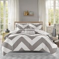 Mi Zone Gemini Reversible Grey Comforter Set