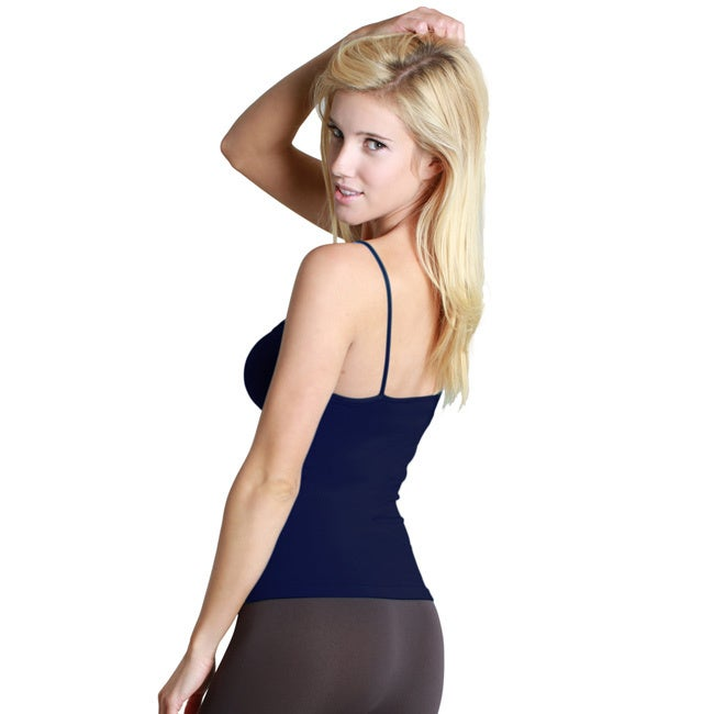 311f810c6e3b5 Shop Nikibiki Women s Seamless Short Length Camisole Top - Free Shipping On  Orders Over  45 - Overstock - 10180537