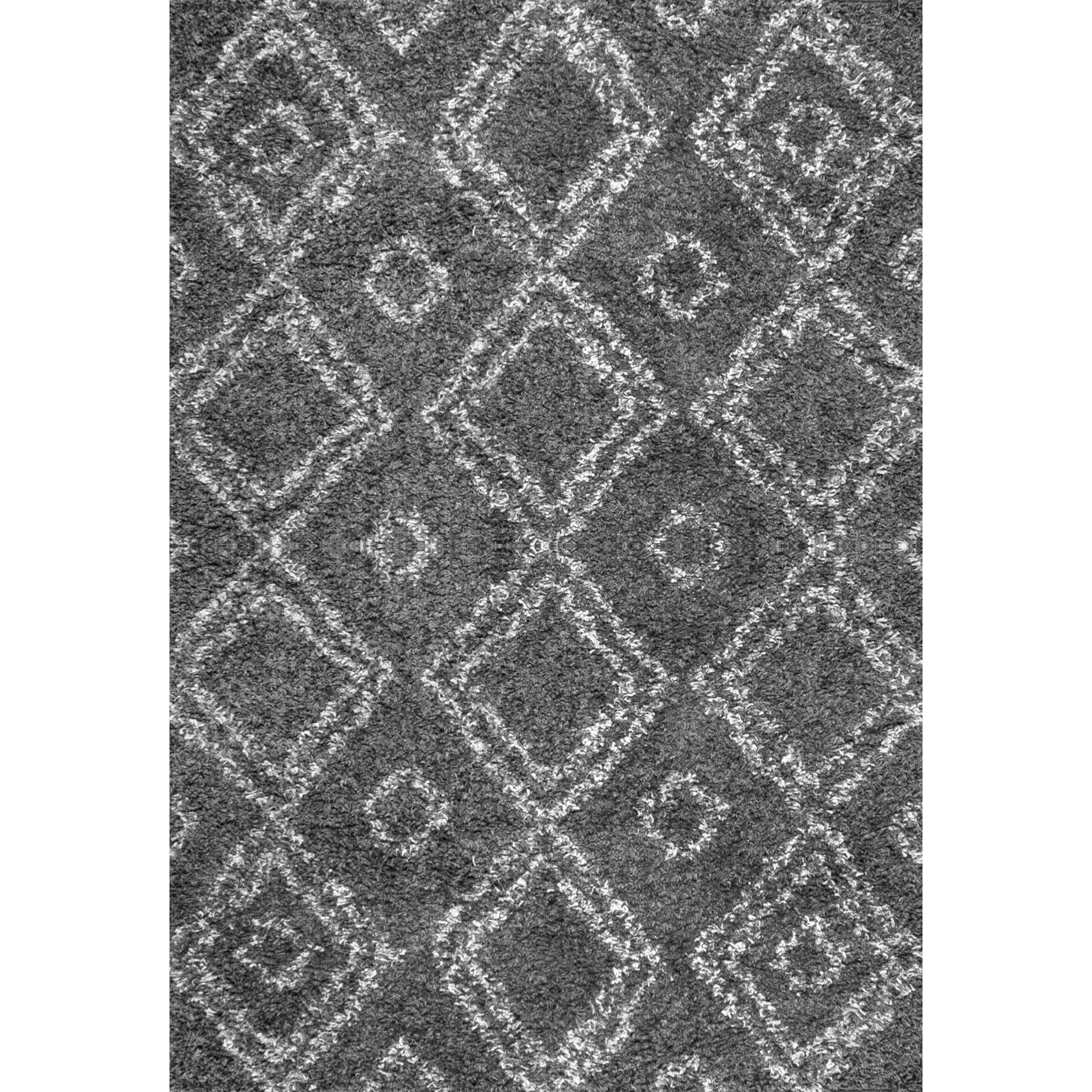 and product colville shipping trellis overstock grey easy shag plush home garden my today rug free nuloom alder moroccan x white alexa soft area clay