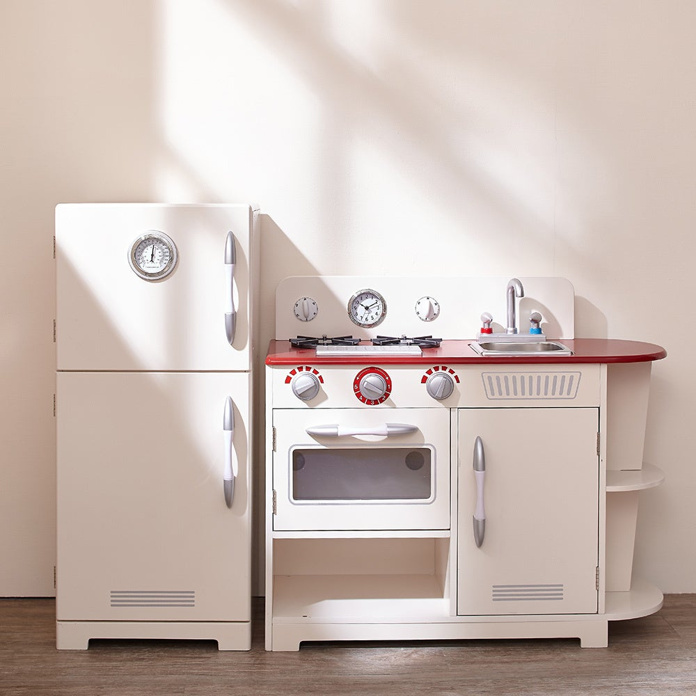 Teamson Kids Classic White Play Kitchen - Free Shipping Today ...