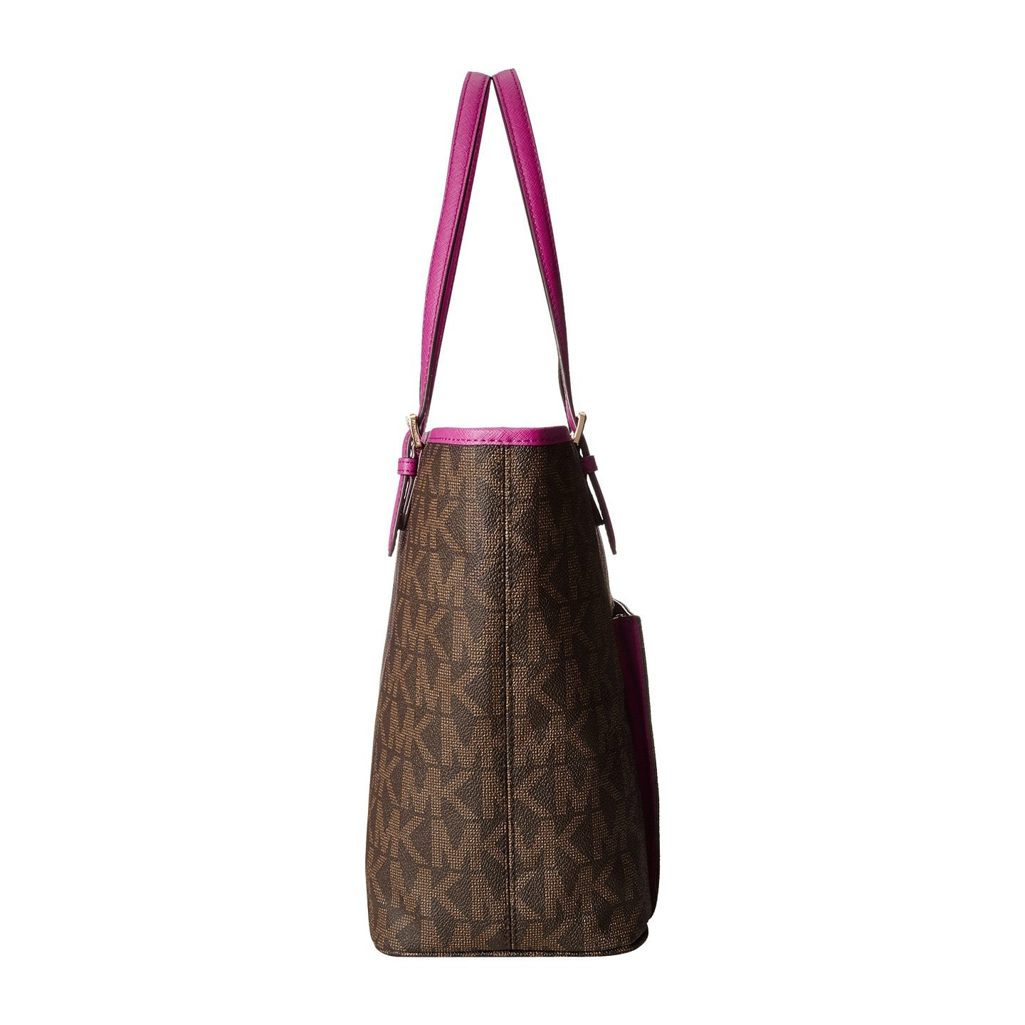 359c0e61419a Shop MICHAEL Michael Kors Jet Set Medium Snap Pocket Tote - Free Shipping  Today - Overstock - 10184432