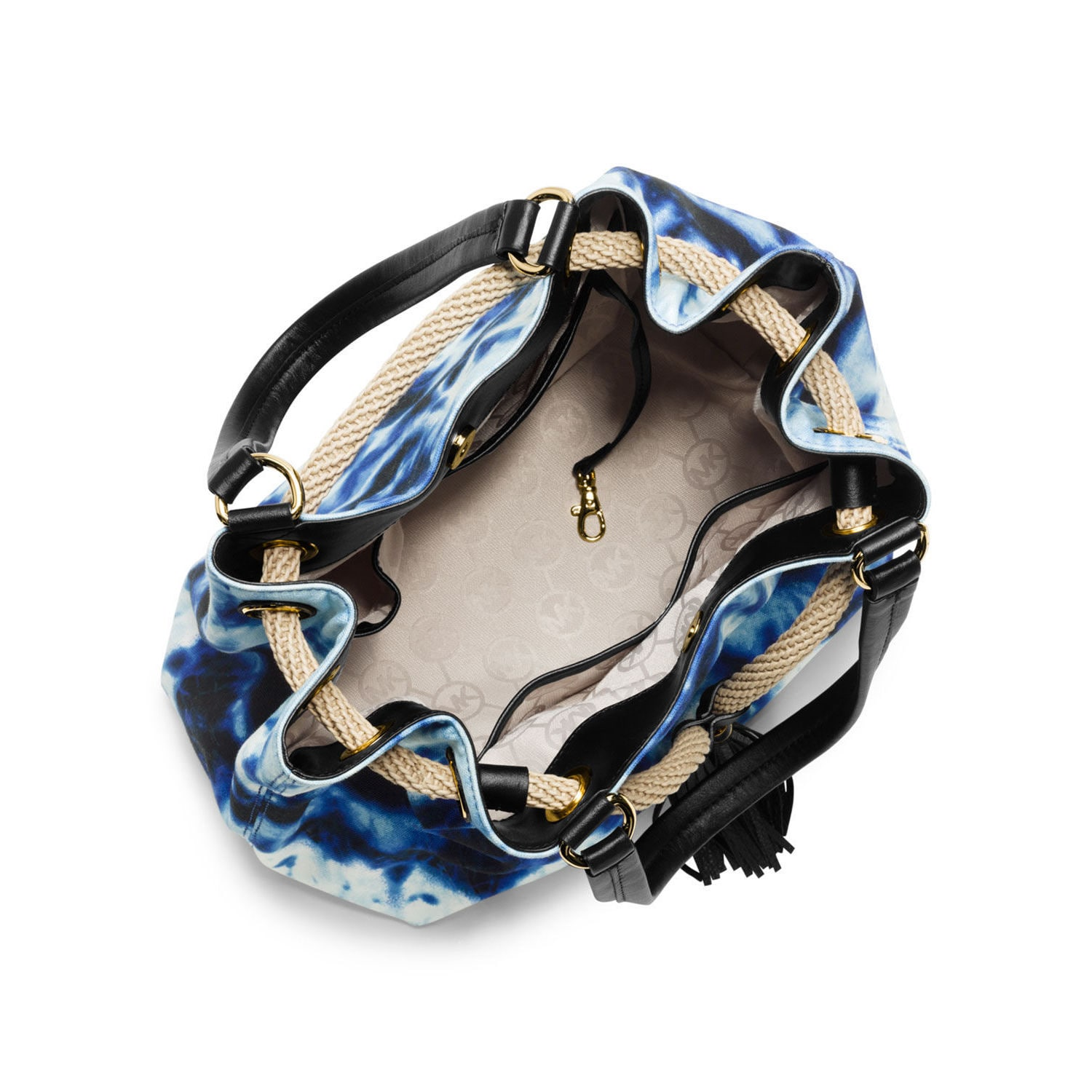 12df210703c7 Shop MICHAEL Michael Kors Marina Large Tie-dye Gathered Tote - Free  Shipping Today - Overstock - 10184618