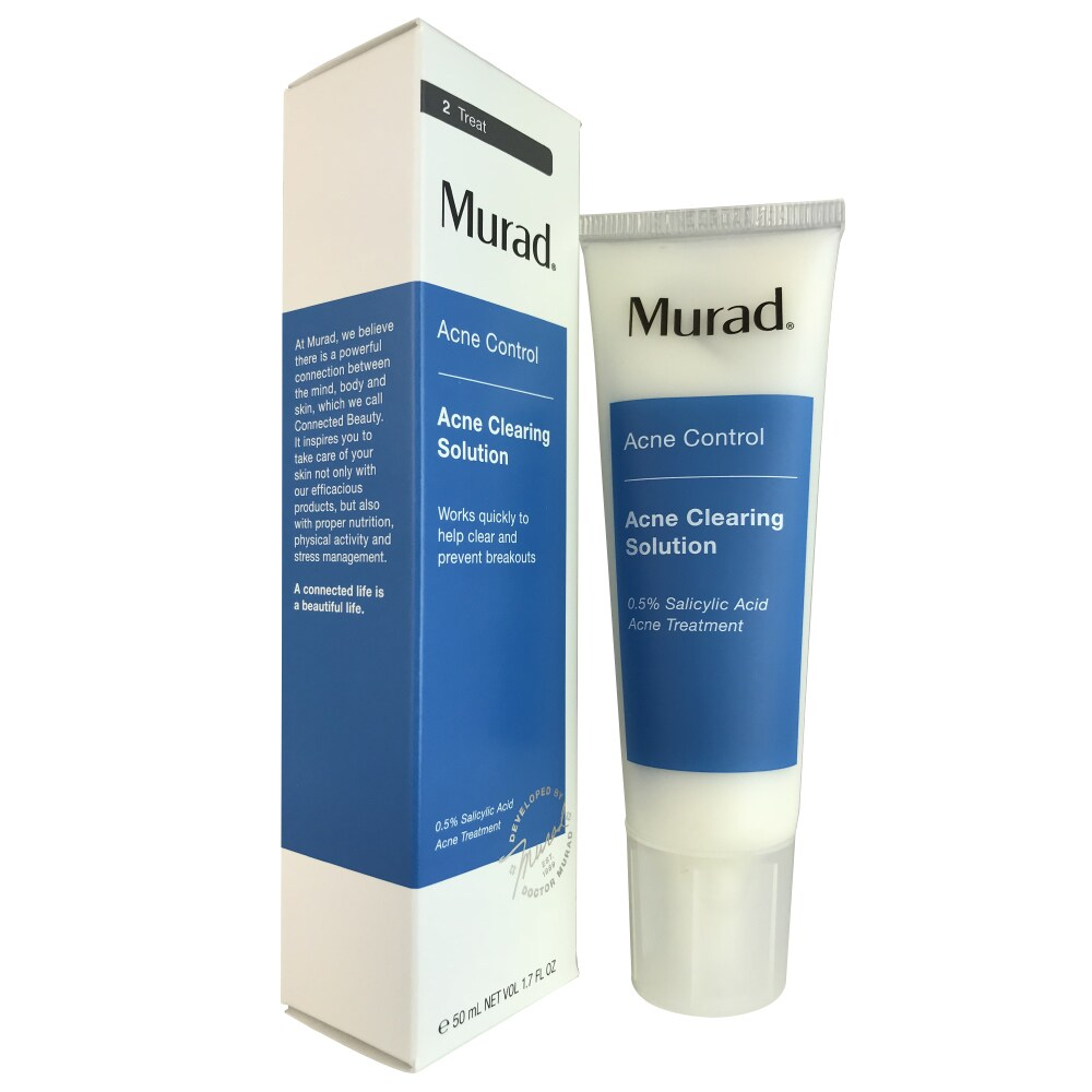 Shop Murad 1 7 Ounce Acne Clearing Solution Free Shipping On Orders Over 45 Overstock Com 10186377